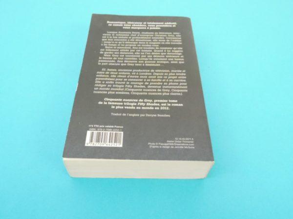 Livre Cinquante nuances de Grey - EL James - Roman - 1er Tome