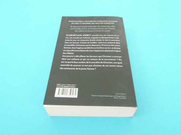 Livre Grey - EL James - Roman - Cinquante nuances de Grey