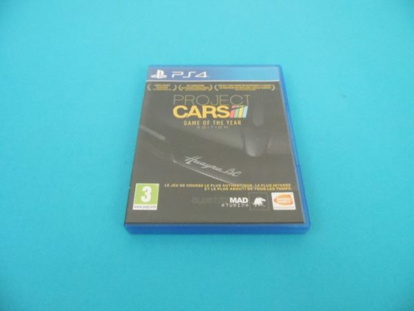Jeu vidéo PS4 - Project Cars - Game Of The Year Edition