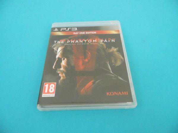 Jeu vidéo PS3 - Metal Gear Solid V The Phantom Pain - DAY ONE édition