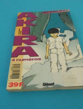 Comics Akira - 4 numéros - Année 1990