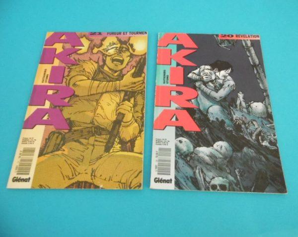 Comics Akira - 2 numéros N°20 et N°21 - Année 1991