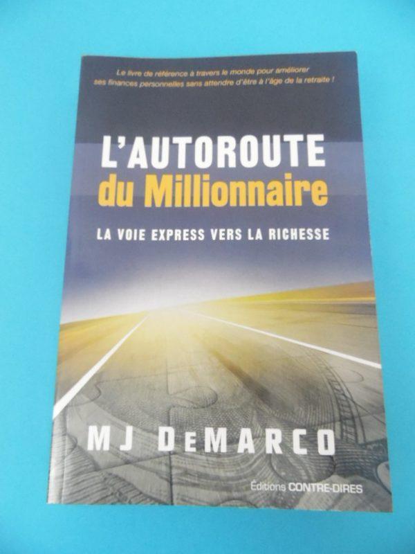 Livre Mj DeMarco - L'autoroute du millionnaire