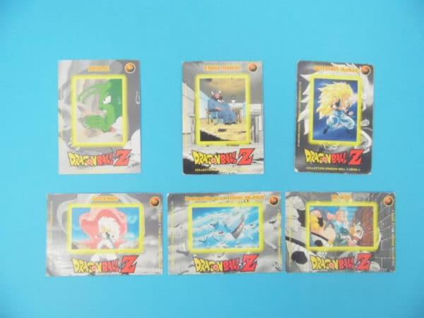 LOT de Carte Dragon Ball Z / Série 4 - 6/100 carte