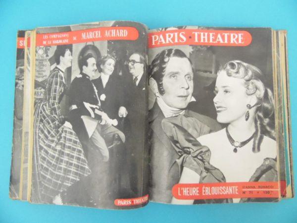 Revue mensuelle Paris Théâtre