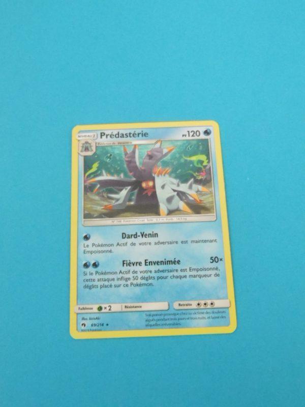 Carte Pokemon FR - Prédastérie 120PV - 69/214 - Tonnerre Perdu