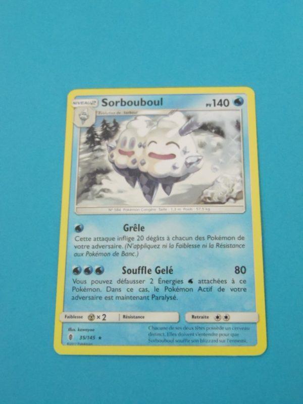 Carte Pokemon FR - Sorbouboul 140PV - 35/145 - SM Gardiens Ascendants