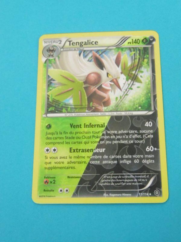 Carte Pokemon FR - Tengalice reverse 140PV - 11/114 - Offensive Vapeur