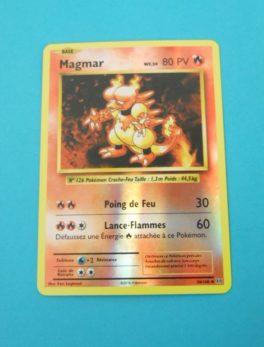 Carte Pokemon FR - Magmar 80PV Holo - 20/108 - XY Évolutions
