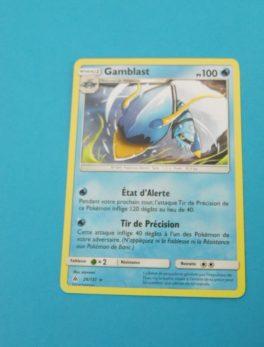 Carte Pokemon FR - Gamblast - 100PV - 26/131 - Lumière Interdite