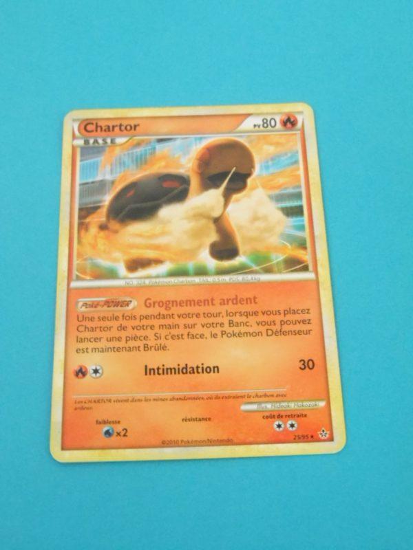 Carte Pokemon FR - Chartor 80PV - 25/95 - HS Déchaînement