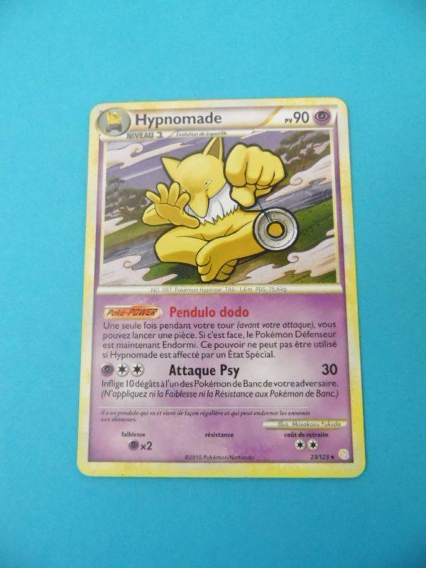 Carte Pokemon FR - Hypnomade 90PV - 23/123 - HeartGold SoulSilver