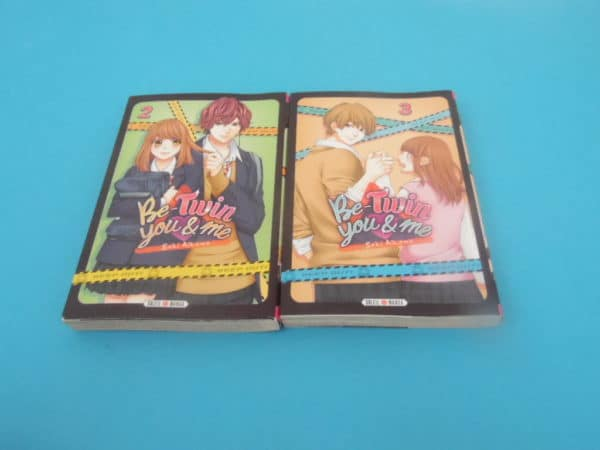 Manga - Be-Twin you and me - Tomes 2 et 3 - VF