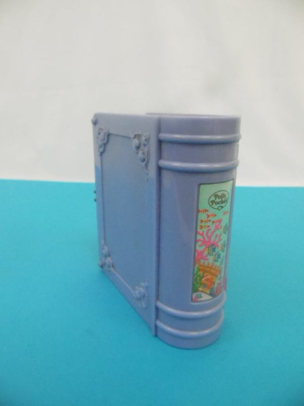 Livre Polly Pocket - Bleubird - Année 1995 - Mermaid Adventure sirène