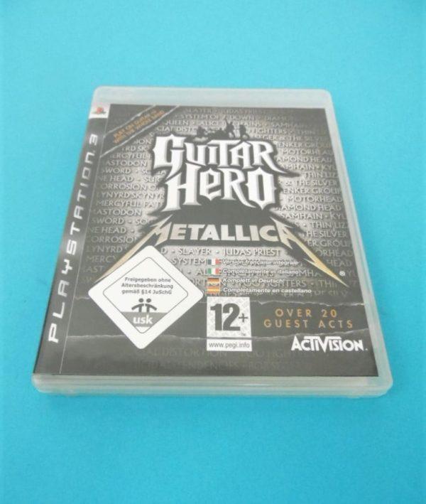 Jeu vidéo PS3 - Guitar Heros Metallica + Guitare sur IQOQO collection