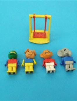 Lot figurines fabuland Lego - Année 1980