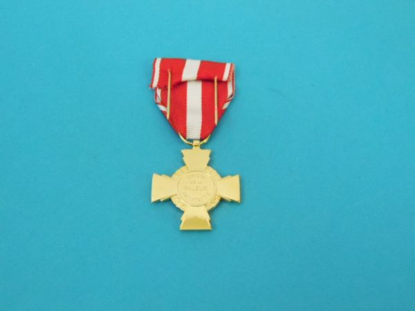 Médaille Française - Croix de la valeur Militaire
