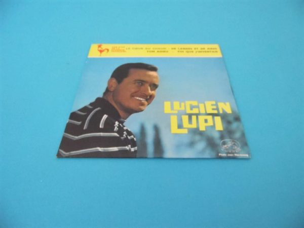 Disque vinyle - 45T - Lucien Lupi