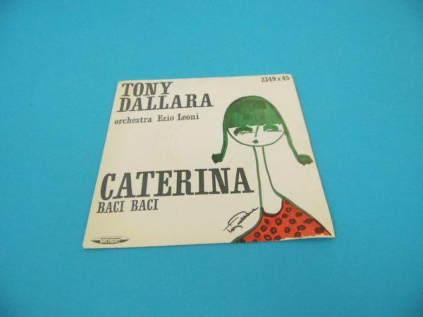 Disque vinyle - 45T - Tony Dallara