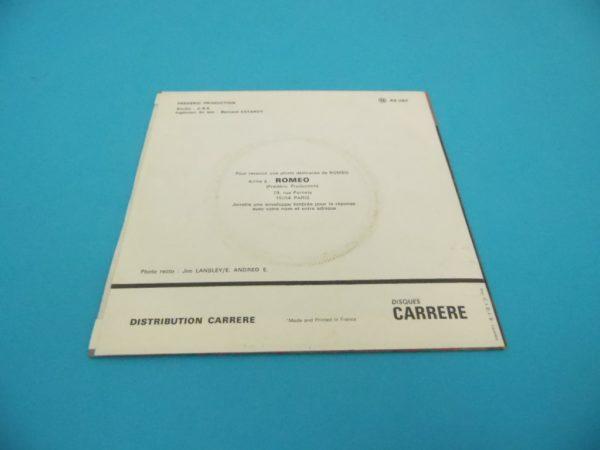 Disque vinyle - 45T - Roméo
