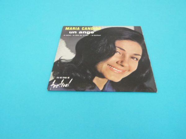 Disque vinyle - 45T - Maria Candido