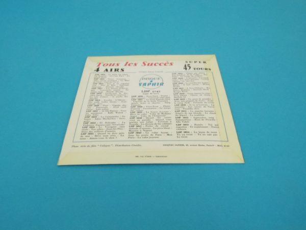 Disque vinyle - 45T - Charlie Level et le chœur des Carnaval's