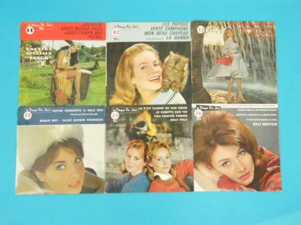 Disque vinyle - 45 T - Le disque du jour N°05 à 18