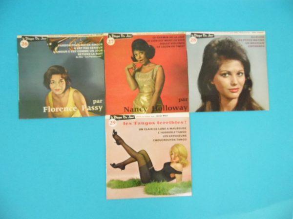 Disque vinyle - 45 T - Le disque du jour N°20 à 29