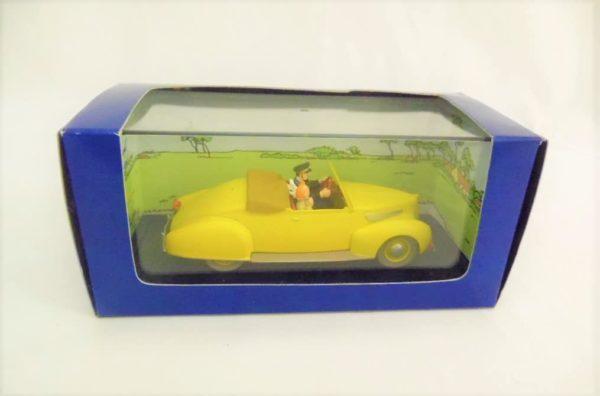 """Voiture miniature TINTIN """"Les 7 boules de cristal"""" - N°12"""