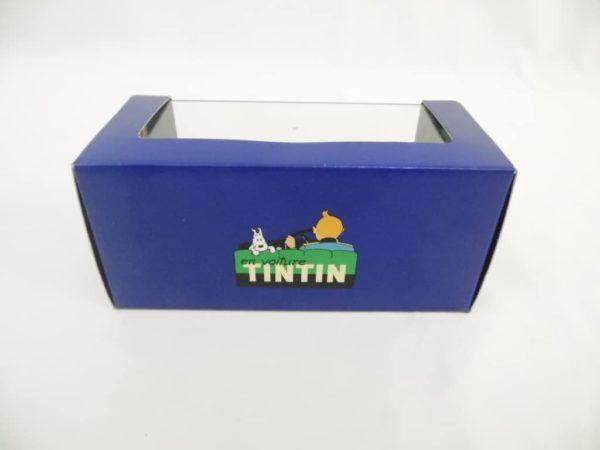 """Voiture miniature TINTIN """"L'affaire tournesol""""- 1/43 ème - N°26"""