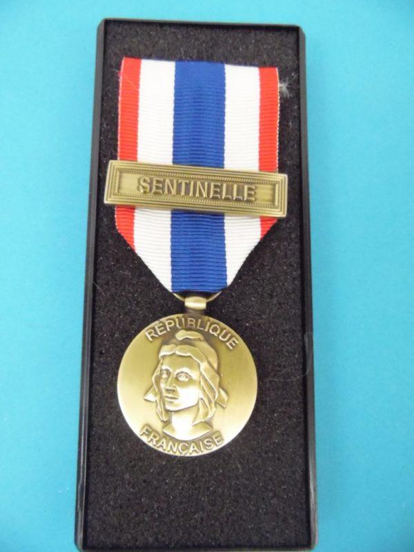 Médaille Française - Sentinelle