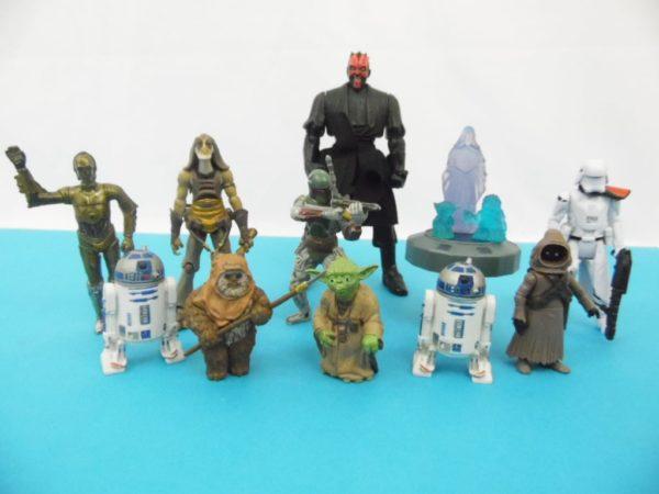 Divers figurines Star Wars