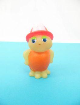 "Figurine Luciole vintage ""Le Pompier"" - Playscool - Hasbro 1986"