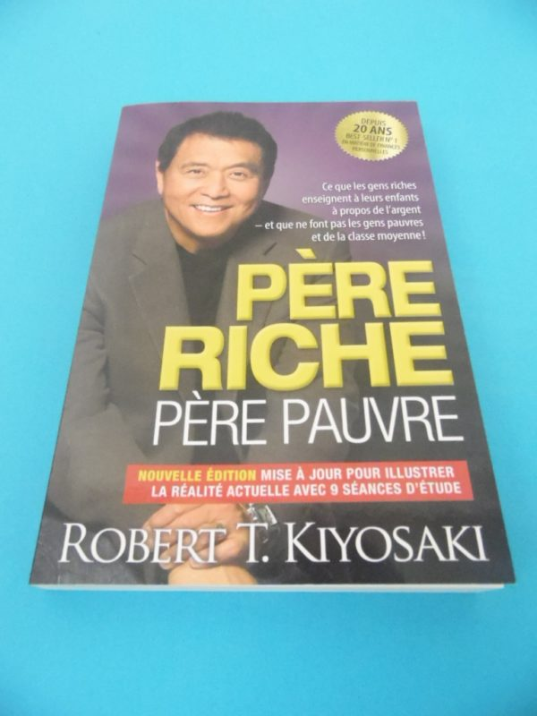 Livre Père riche / Père pauvre - Robert Kiyosaki