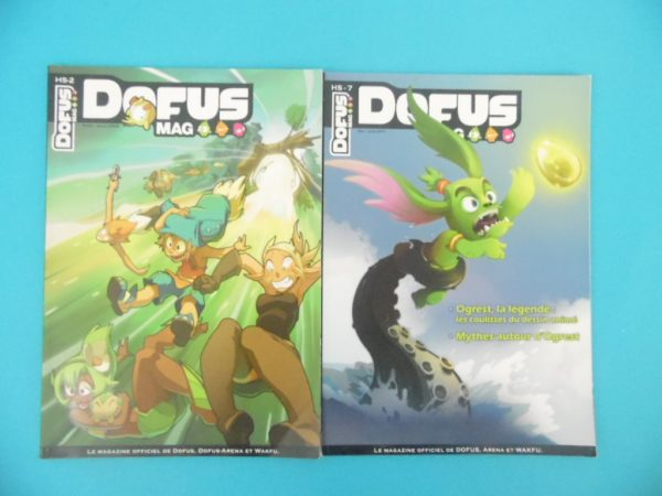 Magazines Dofus - HS N°2 et N°7