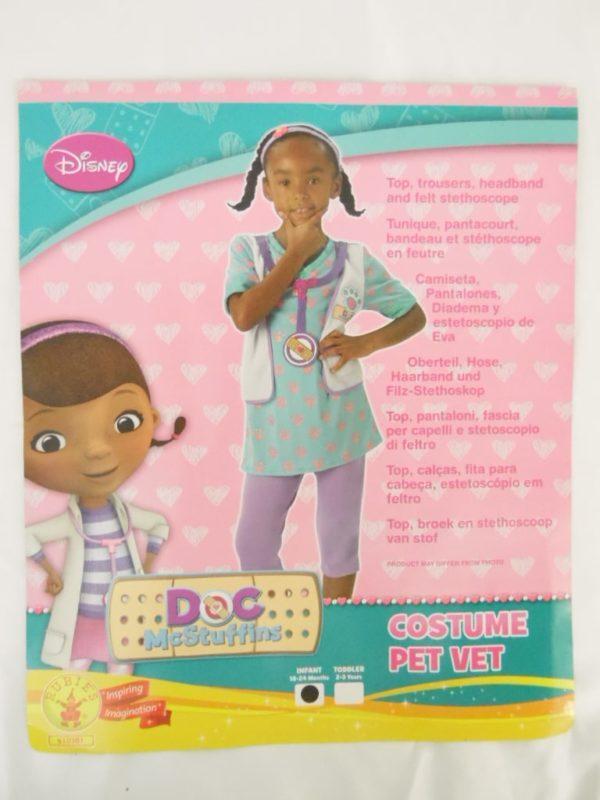 Déguisement Enfant 18/24 mois - Disney Pet Vet - Doc McStuffins