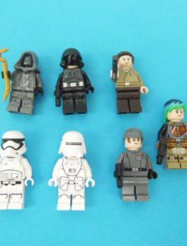 LEGO Star Wars - N° 75184 - 7 Mini-figurines du Calendrier de l'Avent 2017