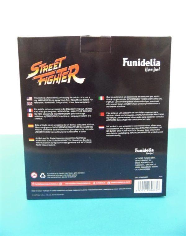 Perruque adulte - Street Fighter - Véga