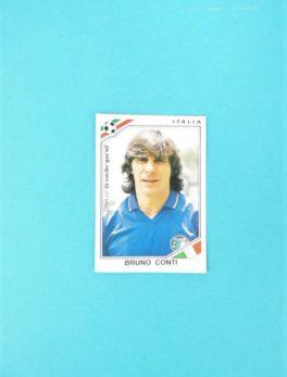 Carte Panini - Mexico 86 - Bruno Conti