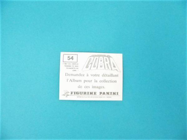 Carte Panini - Cobra - N°54