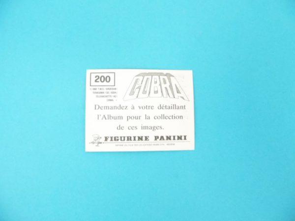 Carte Panini - Cobra - N°200