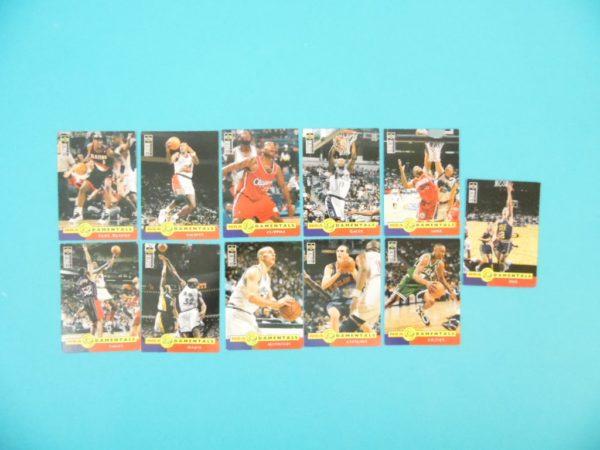 Lots de 11 cartes Upper Deck - 1996 - Fun Damentals