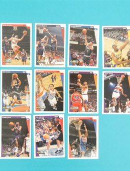 Lots de 11 cartes Upper Deck - 1997