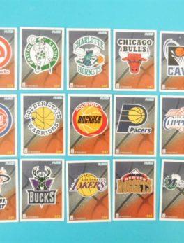 Cartes de 15 club NBA - FLEER - 95/96 - Version Européen