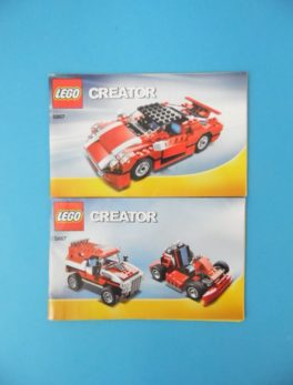 Notice Lego - Creator - N°5867