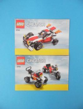 Notice Lego - Creator - N°5763