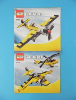 Notice Lego - Creator - N°6745