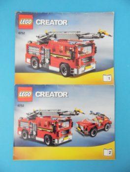 Notice Lego - Créator - N°6752