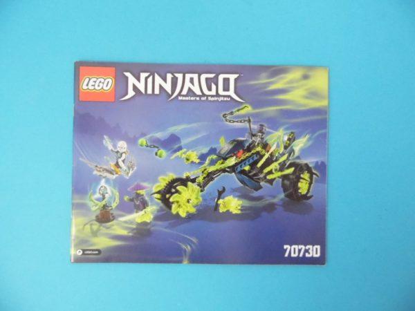Notice Lego - Ninjago - N°70730
