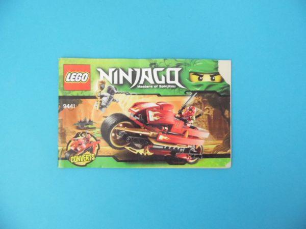 Notice Lego - Ninjago - N°9441